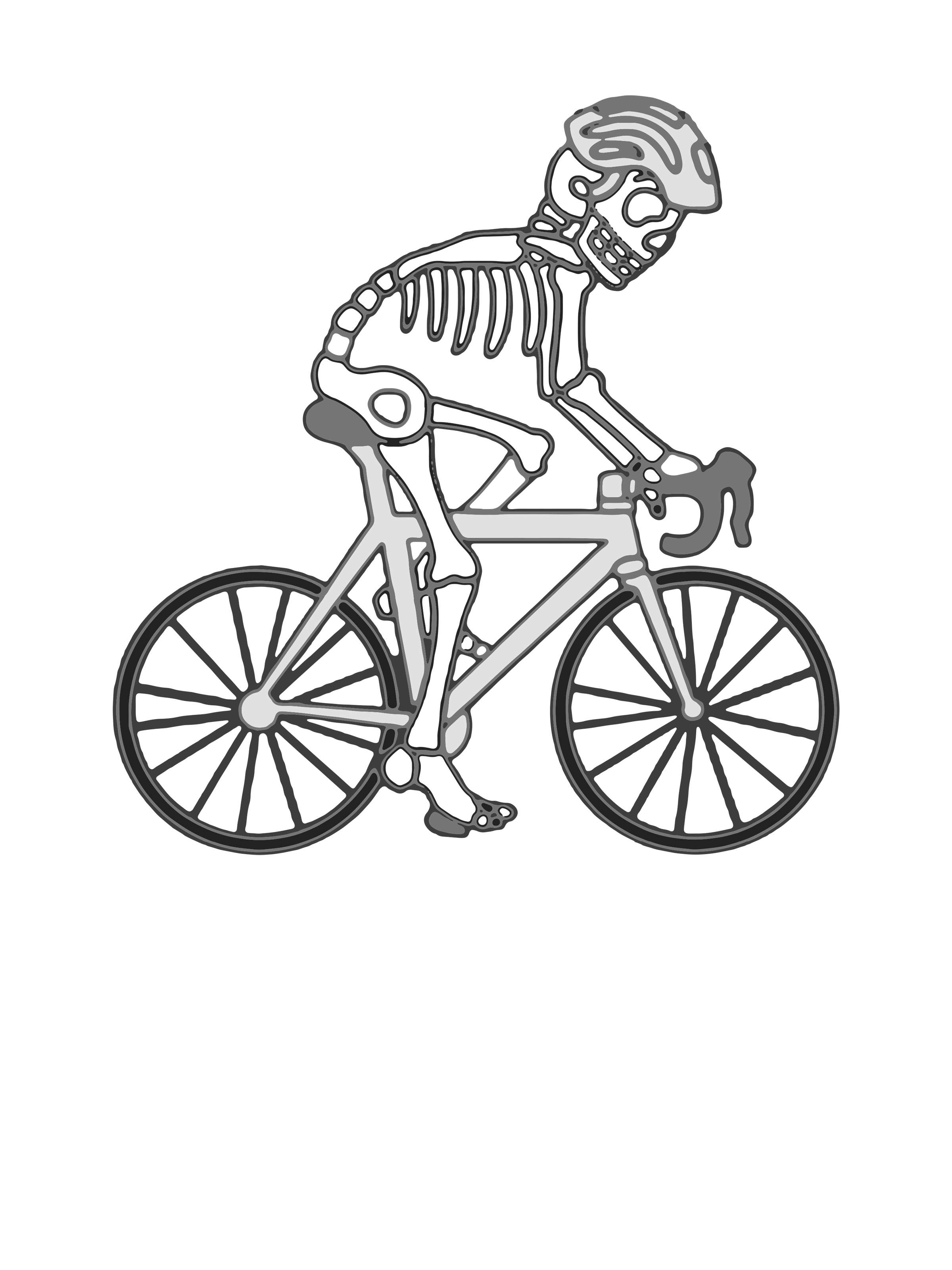 0031 – Bicycle Skeleton