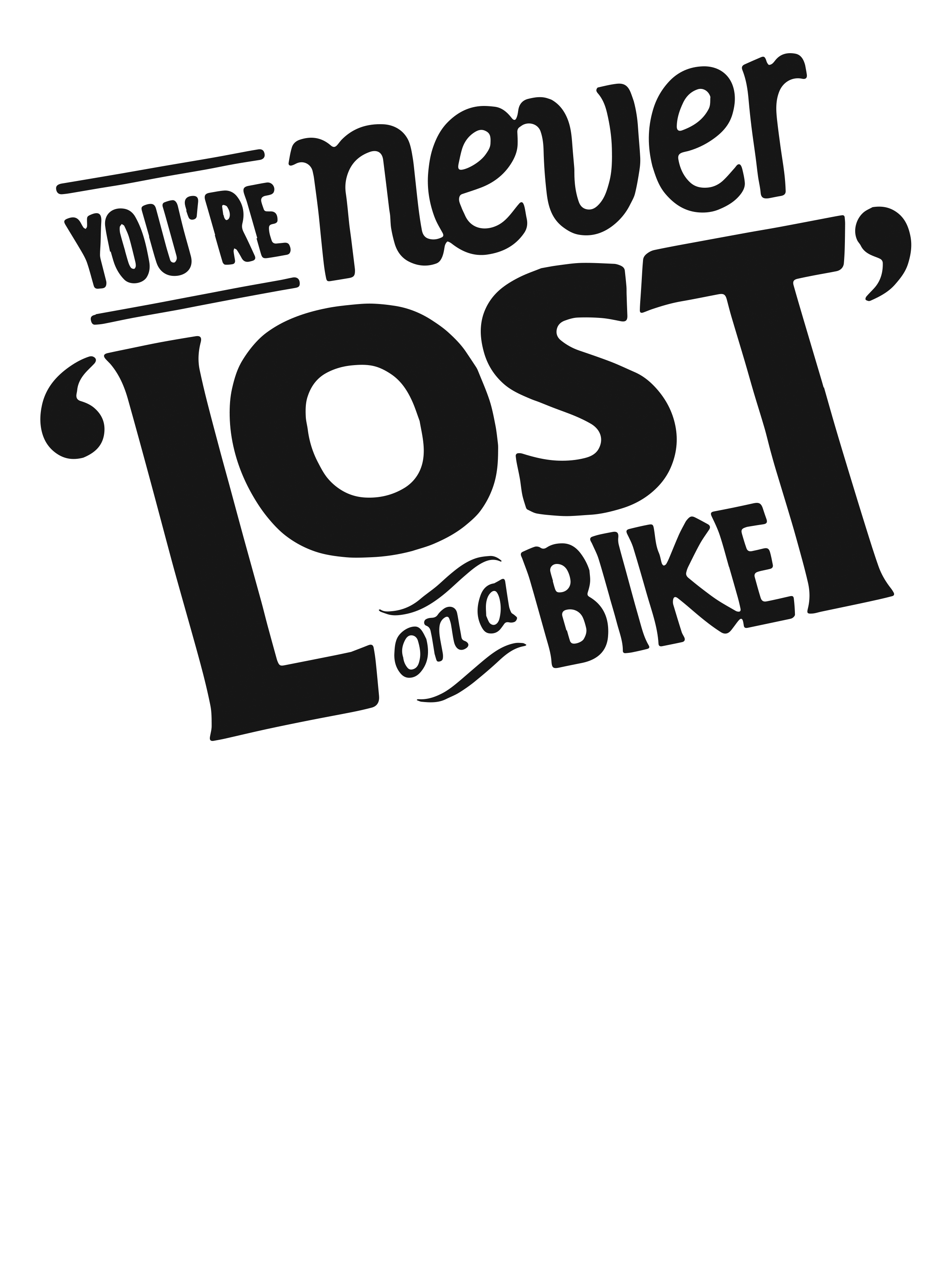 0064 – You're Never Lost on a Bicycle