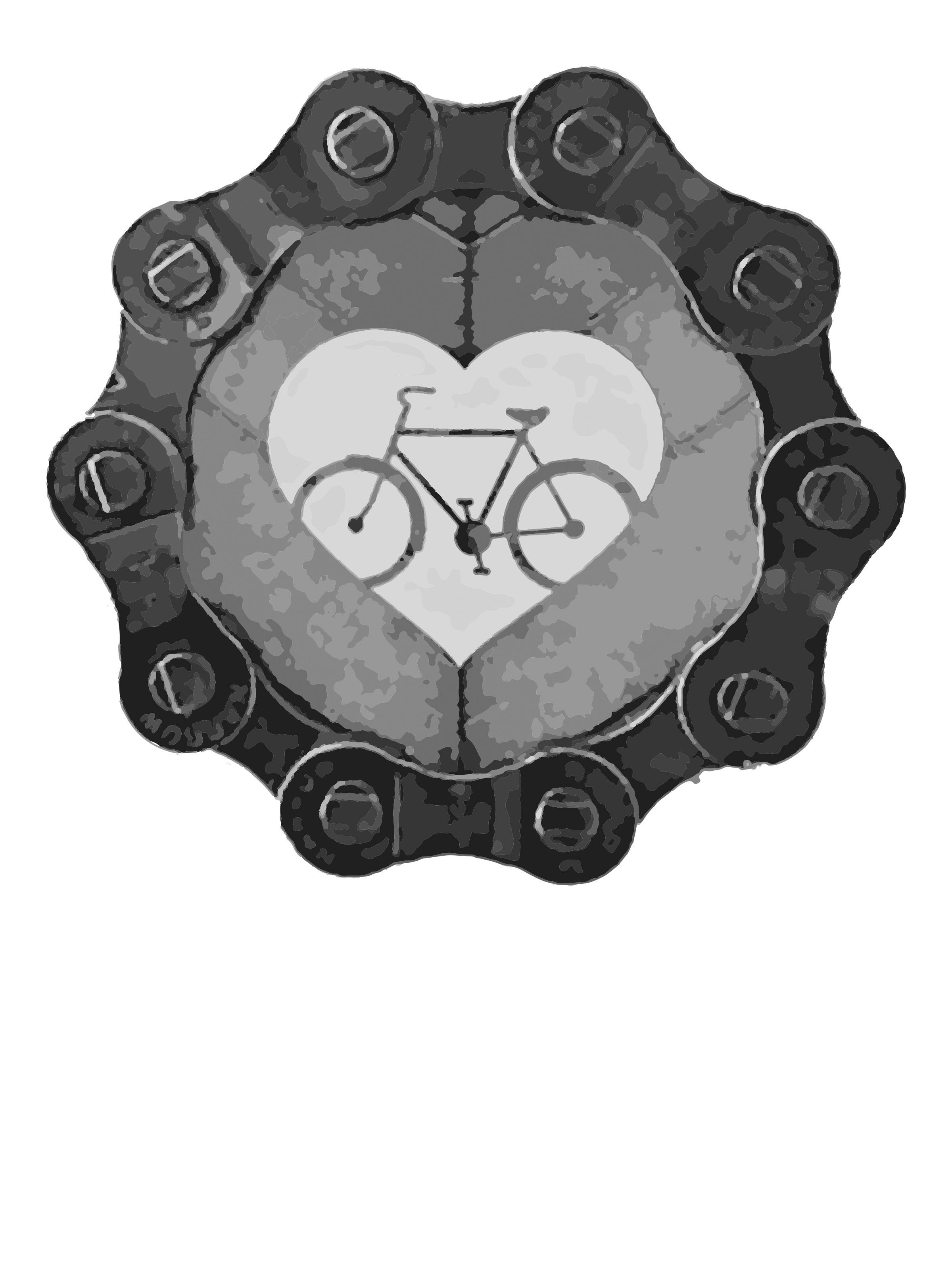 0234 – Chain Heart Bicycle