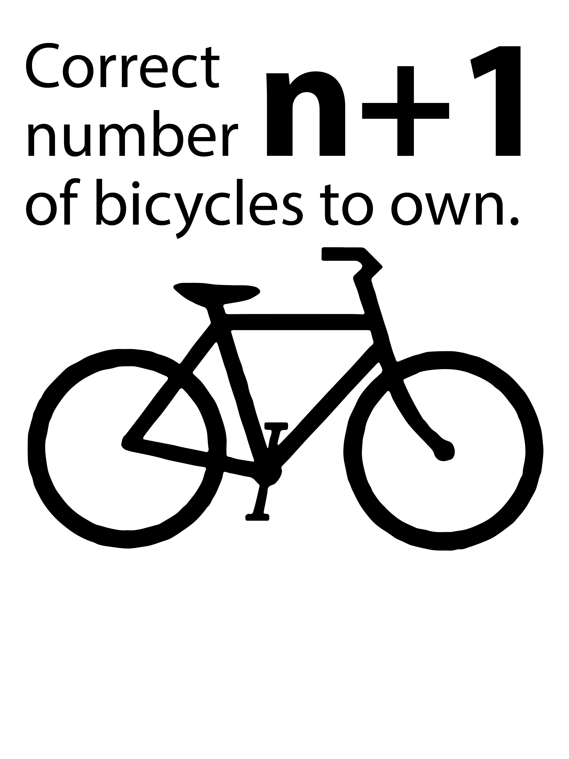 0255 – Correct Number of Bicycles