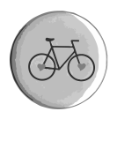 0585 – Bicycle Badge Love